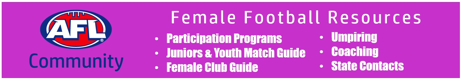 Girls Female Football Resources 2